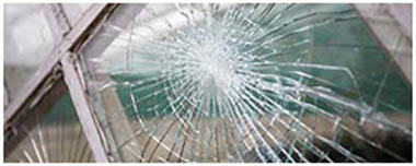 East Sheen Smashed Glass